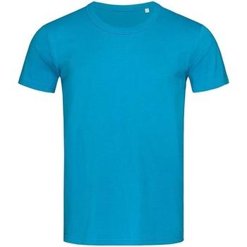 Textiel Heren T-shirts korte mouwen Stedman Stars Stars Lichtblauw