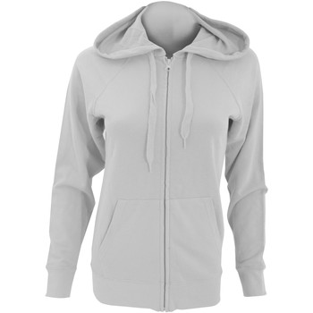Textiel Dames Sweaters / Sweatshirts Fruit Of The Loom Lightweight Heather Grijs