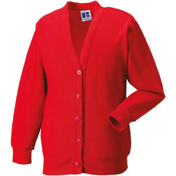 Textiel Kinderen Vesten / Cardigans Jerzees Schoolgear 273B Helder rood