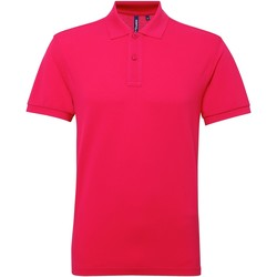 Textiel Heren Polo's korte mouwen Asquith & Fox Performance Heet Roze