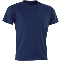 Textiel Heren T-shirts korte mouwen Spiro Aircool Marine