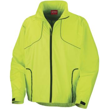 Textiel Heren Windjacken Spiro Crosslite Neon Lime