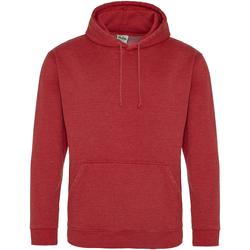 Textiel Sweaters / Sweatshirts Awdis Washed Gewassen vuur rood