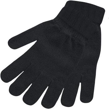 Accessoires Dames Handschoenen Floso Knitted Zwart