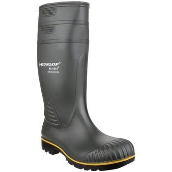 Schoenen Heren Regenlaarzen Dunlop  Groen