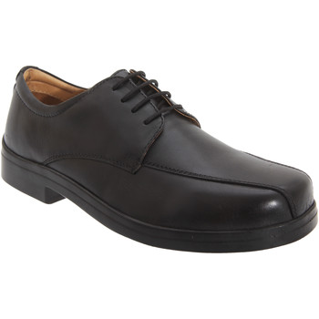 Schoenen Heren Derby Roamers Tramline Zwart