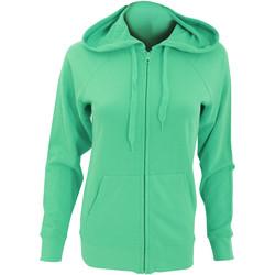 Textiel Dames Sweaters / Sweatshirts Fruit Of The Loom Lightweight Kelly Groen