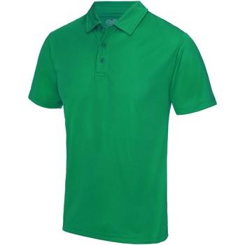 Textiel Heren Polo's korte mouwen Awdis JC040 Kelly Groen