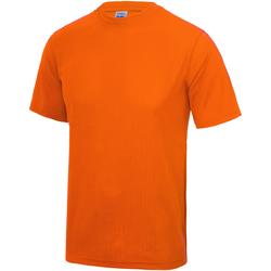 Textiel Kinderen T-shirts korte mouwen Just Cool JC01J Elektrisch Oranje