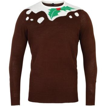 Textiel Heren Truien Christmas Shop Christmas Bruin/Wit
