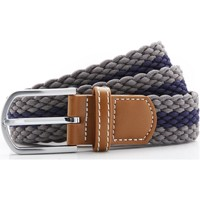 Accessoires Heren Riemen Asquith & Fox Two Colour Stripe Latten/Zwaar