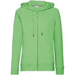 Textiel Dames Sweaters / Sweatshirts Russell J284F Groene mergel