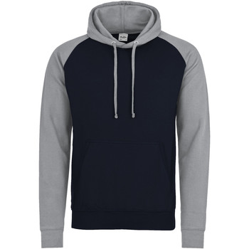 Textiel Heren Sweaters / Sweatshirts Awdis Hooded Marine Oxford / Heather Grey