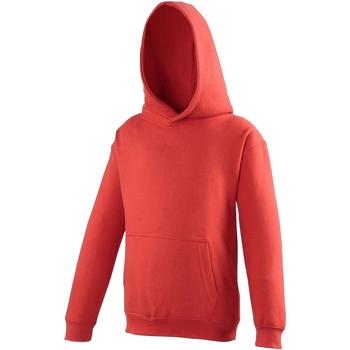 Textiel Kinderen Sweaters / Sweatshirts Awdis Hooded Vuurrood