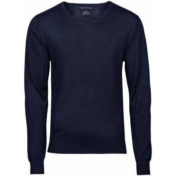 Textiel Heren Truien Tee Jays Knitted Marineblauw
