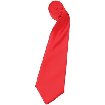 Textiel Heren Krawatte und Accessoires Premier Satin Aardbeienrood