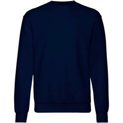Textiel Heren Sweaters / Sweatshirts Fruit Of The Loom 62202 Donker Marine