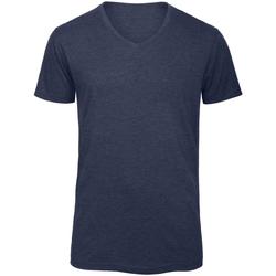 Textiel Heren T-shirts korte mouwen B And C Favourite Heide-Marine