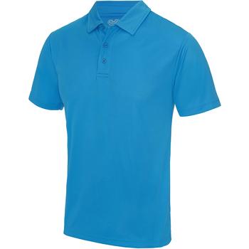 Textiel Heren Polo's korte mouwen Awdis JC040 Saffierblauw
