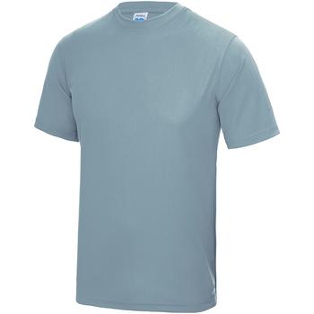 Textiel Kinderen T-shirts korte mouwen Awdis JC01J Hemelsblauw