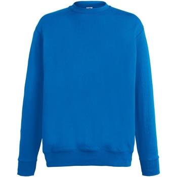 Textiel Heren Sweaters / Sweatshirts Fruit Of The Loom SS926 Royaal Blauw