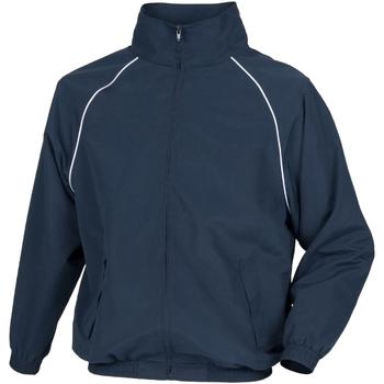 Textiel Heren Wind jackets Tombo Teamsport Track Marine / Witte leidingen