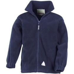 Textiel Kinderen Fleece Result Active Marineblauw