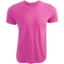 Textiel T-shirts korte mouwen Bella + Canvas CA3650 Neonroze