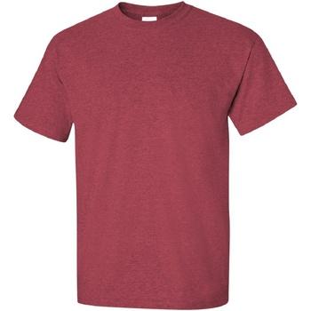 Textiel Heren T-shirts korte mouwen Gildan Ultra Heide Kardinaal