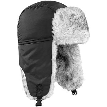 Accessoires Hoed Beechfield Sherpa Zwart