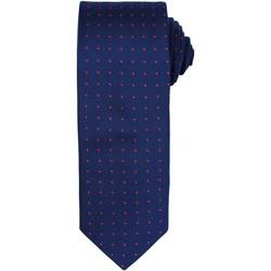 Textiel Heren Krawatte und Accessoires Premier Dot Pattern Marine / Rood