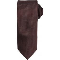 Textiel Heren Krawatte und Accessoires Premier Waffle Bruin