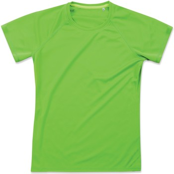 Textiel Dames T-shirts korte mouwen Stedman  Kiwi Groen