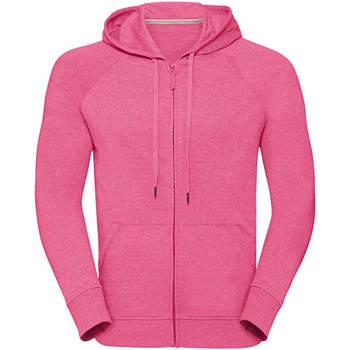 Textiel Heren Sweaters / Sweatshirts Russell J284M Roze Mergel