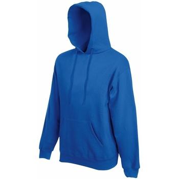 Textiel Heren Sweaters / Sweatshirts Fruit Of The Loom Hooded Royaal Blauw