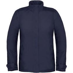 Textiel Dames Windjacken B And C Real+ Marineblauw