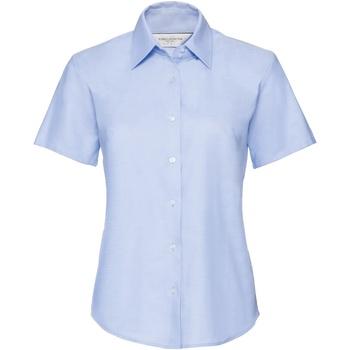 Textiel Dames Overhemden Russell Oxford Oxford Blauw