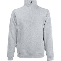 Textiel Heren Sweaters / Sweatshirts Fruit Of The Loom Premium Heater Grijs