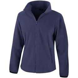 Textiel Dames Fleece Result Core Marineblauw
