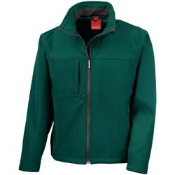 Textiel Heren Fleece Result Performance Fles groen