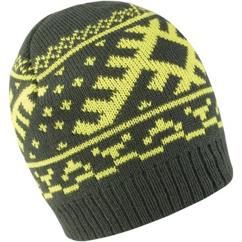 Accessoires Muts Result Knitted Donkere Olijf / Kalk