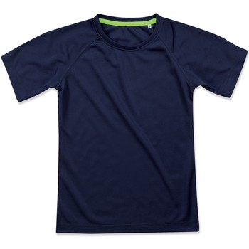 Textiel Dames T-shirts korte mouwen Stedman Raglan Koningsblauw