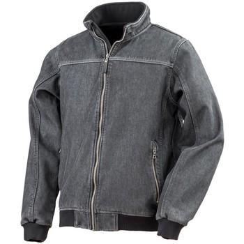 Textiel Heren Wind jackets Result Bomber Gewassen Zwart