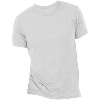Textiel Heren T-shirts korte mouwen Bella + Canvas Triblend Witte Vlek Triblend