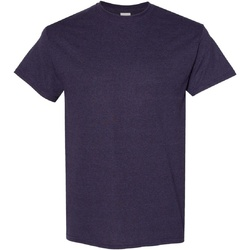 Textiel Heren T-shirts korte mouwen Gildan Heavy Blackberry