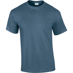 Textiel Heren T-shirts korte mouwen Gildan Ultra Indigoblauw