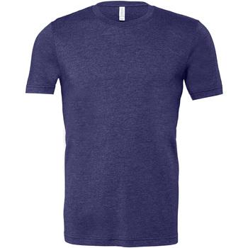 Textiel Heren T-shirts korte mouwen Bella + Canvas Jersey Heater Midernacht  Marine