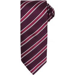 Textiel Heren Krawatte und Accessoires Premier  Bourgogne/ Aubergine