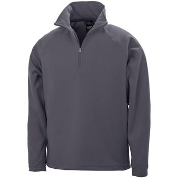 Textiel Heren Fleece Result Micron Houtskool