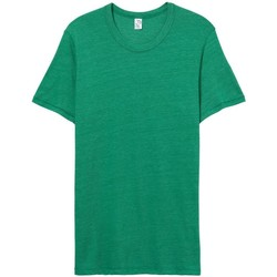 Textiel Heren T-shirts korte mouwen Alternative Apparel Jersey Eco True Green